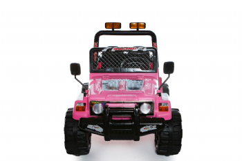 Pink 2 Seater 4x4 Truck - 12V Kids' Electric Ride On Car